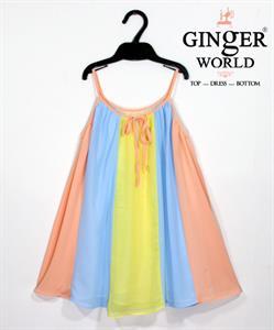 Đầm Tinh Nghịch Cho Bé SC114 GINgER WORLD