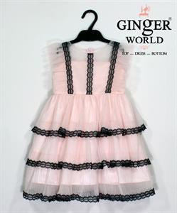 Đầm Dự Tiệc Cho Bé HQ629 GINgER WORLD