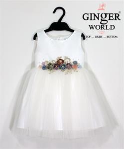 Đầm Dự Tiệc Cho Bé HQ630 GINgER WORLD