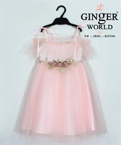 Đầm Dự Tiệc Cho Bé HQ637 GINgER WORLD