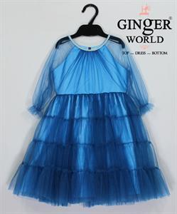 Đầm Dự Tiệc Cho Bé HQ638 GINgER WORLD
