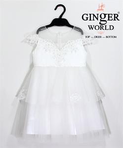 Đầm Dự Tiệc Cho Bé HQ642 GINgER WORLD