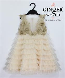 Đầm Dự Tiệc Cho Bé HQ644 GINgER WORLD