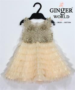 Đầm Dự Tiệc Cho Bé HQ645 GINgER WORLD