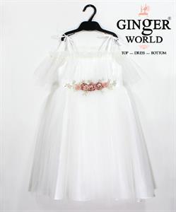 Đầm Dự Tiệc Cho Bé HQ650 GINgER WORLD