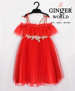 Đầm Dự Tiệc Cho Bé HQ651 GINgER WORLD