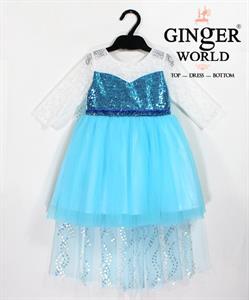 Đầm Công Chúa Cho Bé HQ652 GINgER WORLD