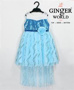 Đầm Công Chúa Cho Bé HQ653 GINgER WORLD