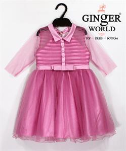 Đầm Dự Tiệc Cho Bé HQ646 GINgER WORLD