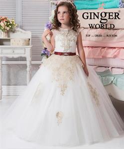 Đầm Dự Tiệc Cho Bé HQ657 GINgER WORLD