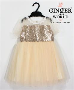 Đầm Dự Tiệc Cho Bé HQ659 GINgER WORLD