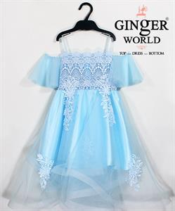 Đầm Dự Tiệc Cho Bé HQ661 GINgER WORLD