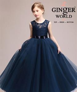 Đầm Dự Tiệc Cho Bé HQ663 GINgER WORLD