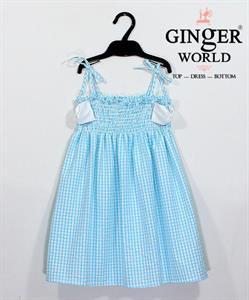 Đầm Tinh Nghịch Cho Bé SC126 GINgER WORLD