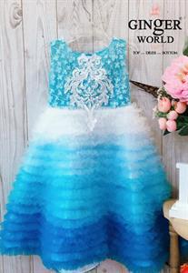 Đầm Dự Tiệc Cho Bé HQ674 GINgER WORLD