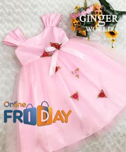 Đầm Dự Tiệc Cho Bé HQ675 GINgER WORLD