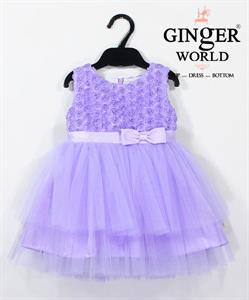 Đầm Dự Tiệc Cho Bé HQ676 GINgER WORLD