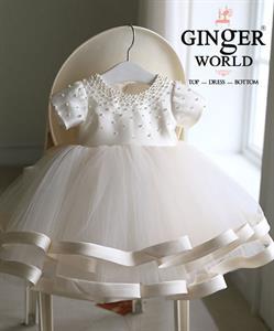 Đầm Dự Tiệc Cho Bé HQ679 GINgER WORLD