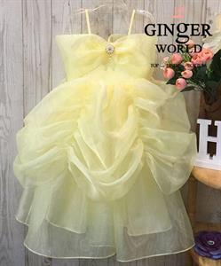Đầm Dự Tiệc Cho Bé HQ681 GINgER WORLD