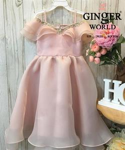 Đầm Dự Tiệc Cho Bé HQ683 GINgER WORLD