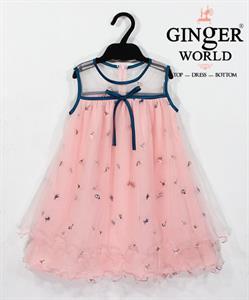 Đầm Tinh Nghịch Cho Bé SC136 GINgER WORLD