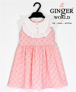 Đầm Tinh Nghịch Cho Bé SC143 GINgER WORLD