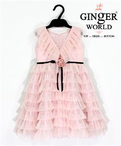Đầm Dự Tiệc Cho Bé HQ688 GINgER WORLD