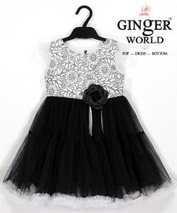 Đầm Dự Tiệc Cho Bé HQ689 GINgER WORLD