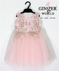 Đầm Dự Tiệc Cho Bé HQ690 GINgER WORLD