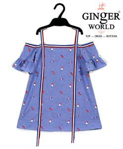 Đầm Tinh Nghịch Cho Bé SC150 GINgER WORLD