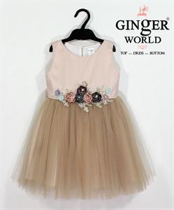 Đầm Dự Tiệc Cho Bé HQ692 GINgER WORLD