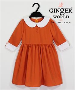 Đầm Tinh Nghịch Cho Bé SC158 GINgER WORLD
