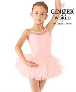 Váy Múa Bellet Cho Bé PD346 GINgER WORLD