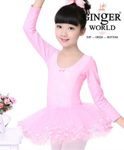 Váy Múa Bellet Cho Bé PD347 GINgER WORLD