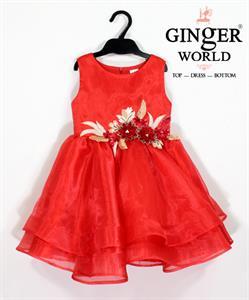 Đầm Dự Tiệc Cho Bé HQ691 GINgER WORLD