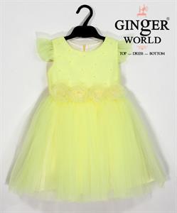 Đầm Dự Tiệc Cho Bé HQ693 GINgER WORLD