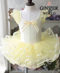 Váy Múa Bellet Cho Bé PD348 GINgER WORLD