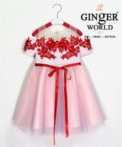 Đầm Dự Tiệc Cho Bé HQ695 GINgER WORLD