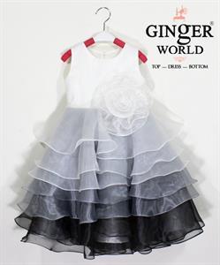 Đầm Dự Tiệc Cho Bé HQ696 GINgER WORLD