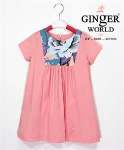 Đầm Tinh Nghịch Cho Bé SC165 GINgER WORLD