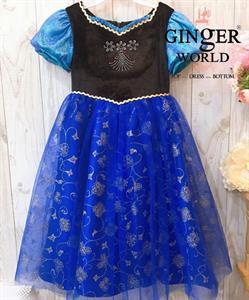 Đầm Công Chúa Anna Cho Bé HQ700 GINgER WORLD