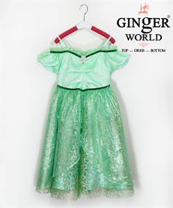 Đầm Dự Tiệc Cho Bé HQ705 GINgER WORLD