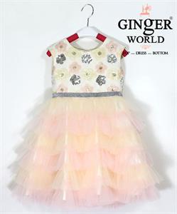Đầm Dự Tiệc Cho Bé HQ707 GINgER WORLD