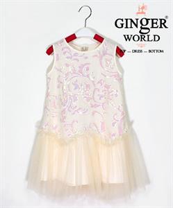 Đầm Dự Tiệc Cho Bé HQ708 GINgER WORLD