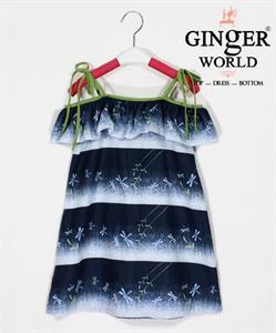 Đầm Dạo Phố Cho Bé SC175 GINgER WORLD
