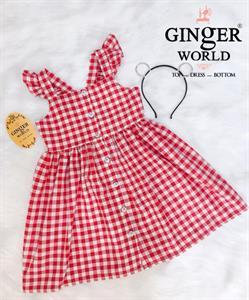 Đầm Tinh Nghịch Cho Bé SC181 GINgER WORLD
