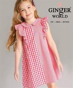 Đầm Tinh Nghịch Cho Bé SC183 GINgER WORLD