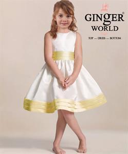 Đầm Dự Tiệc Cho Bé HQ709 GINgER WORLD