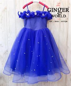 Đầm Công Chúa Cinderella Cho Bé HQ710 GINgER WORLD