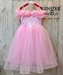 Đầm Công Chúa Cinderella Cho Bé HQ711 GINgER WORLD